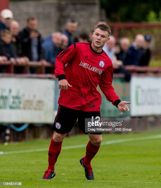 Chris O'Neil in action for Brechin