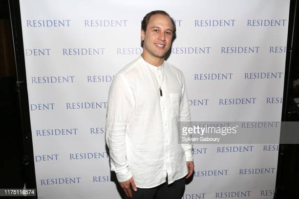 Chris Ostrowski attends Janel Tanna's Cover Party By Resident Magazine at Philippe Chow on October 9 2019 in New York City