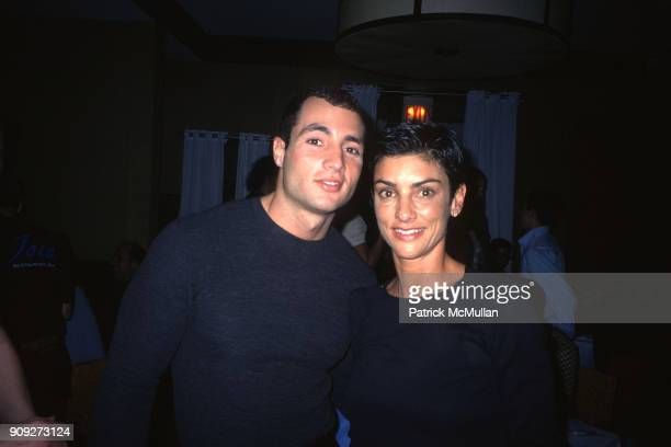 Chris Paciello and Ingrid Casares at an event in November 1998