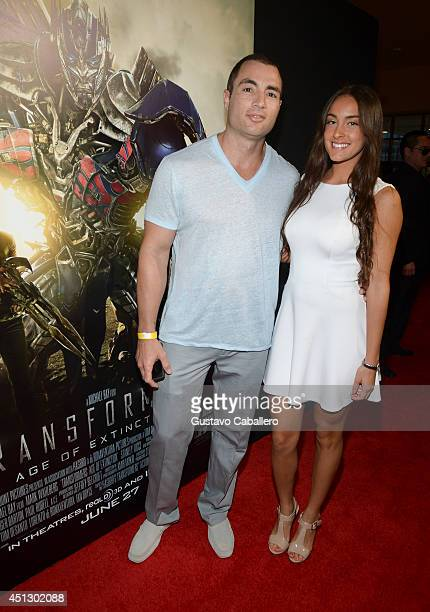 Chris Paciello arrives to the Miami Special Screening of Transformers Age of Extinction at Aventura Mall on June 26 2014 in Miami Florida