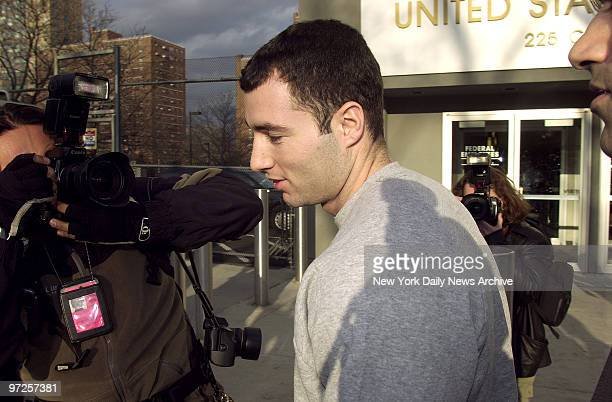 Chris Paciello leaves Brooklyn Federal Court for his home on Staten Island where he will be under house arrest