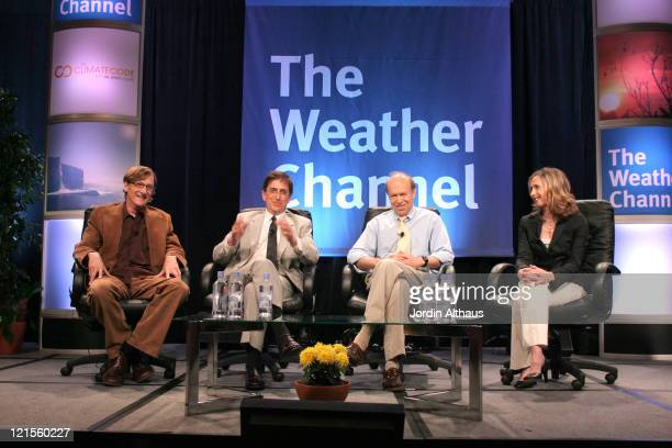 Chris Paine Andrew Revkin Dr James Hansen and Dr Heidi Cullen