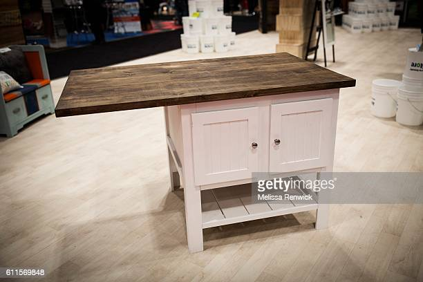 Chris Palmer's reclaimed piece is part of the Upcycle Challenge at the Fall Home Show in Toronto