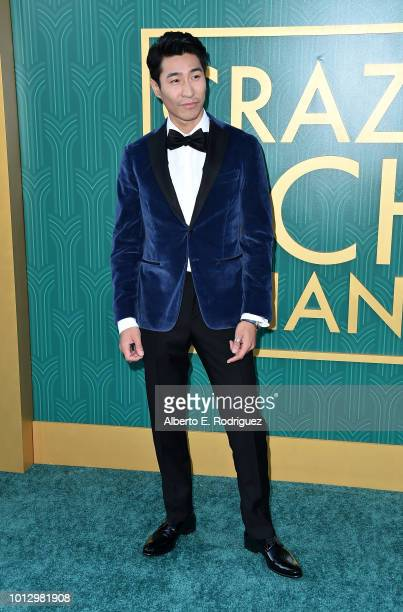 """Chris Pang attends the premiere of Warner Bros. Pictures' """"Crazy Rich Asiaans"""" at TCL Chinese Theatre IMAX on August 7, 2018 in Hollywood, California."""