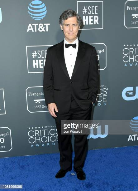 Chris Parnell attends the 24th annual Critics' Choice Awards at Barker Hangar on January 13 2019 in Santa Monica California