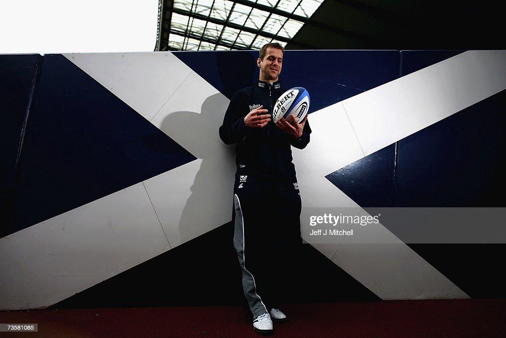 Scotland Training & Press Conference : News Photo
