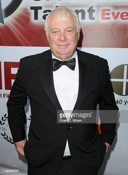 Chris Patten attends the Great British Talent Event hosted by the National Film and Television School at Old Billingsgate Market on June 14 2011 in...