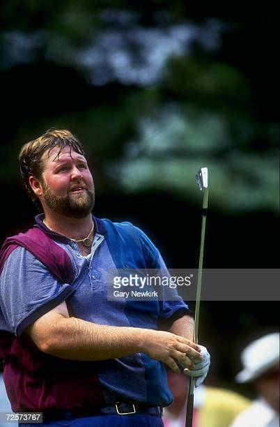 Chris Patton swings during the US Open at Oakmont Golf Course in Oakmont Pennsylvania Mandatory Credit Gary Newkirk /Allsport