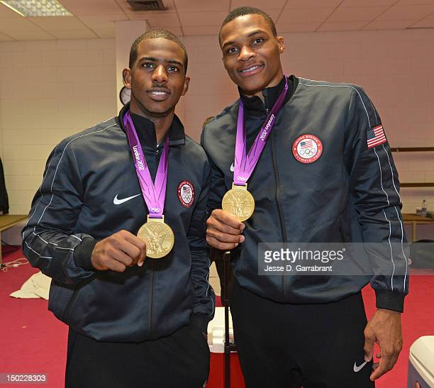 ¿Cuánto mide Chris Paul? - Real height Chris-paul-and-russell-westbrook-of-the-us-mens-senior-national-team-picture-id150228303?s=612x612
