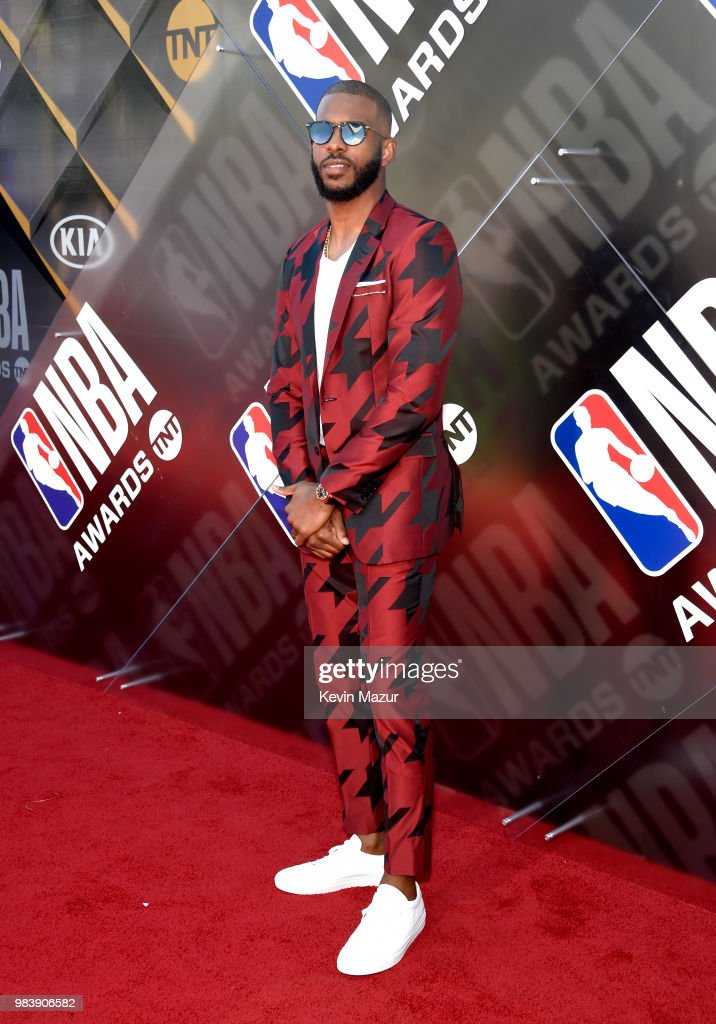 2018 NBA Awards - Red Carpet