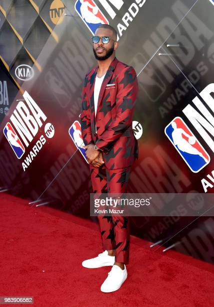 Chris Paul attends 2018 NBA Awards at Barkar Hangar on June 25 2018 in Santa Monica California