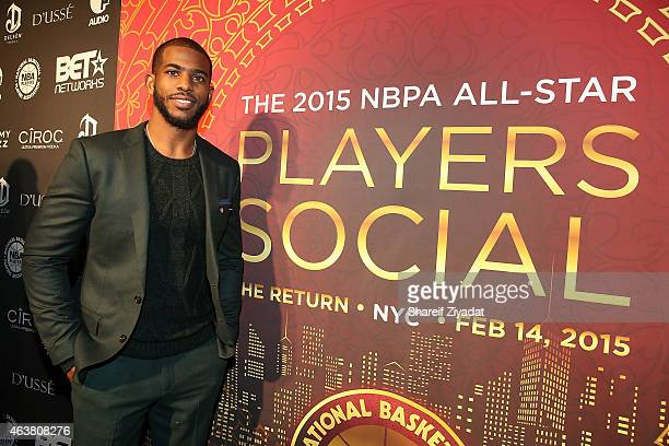 Chris Paul attends the NBPA Gala at Cipriani Downtown during NBA All-Star Weekend on February 14, 2015 in New York, New York.