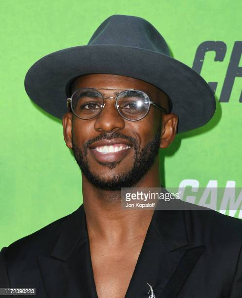 Chris Paul attends the LA Premiere Of The Game Changers at ArcLight Hollywood on September 04 2019 in Hollywood California