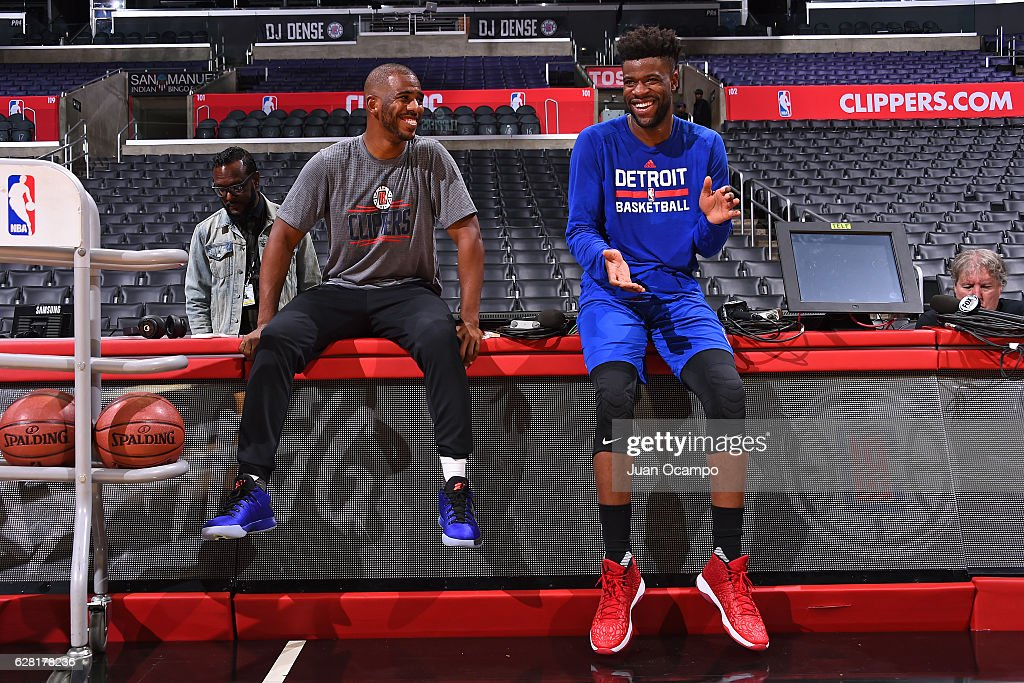 Detroit Pistons v Los Angeles Clippers