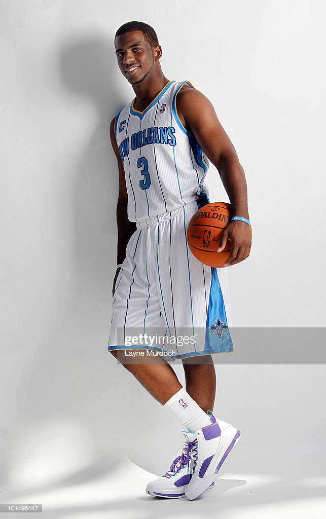 d448241a8 Chris Paul of the New Orleans Hornets poses for a portrait during ...