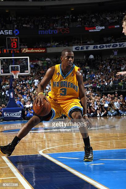 4c19ebc690a3 ... Western Conference Quarterfinals between. ED. Editorial use only. Chris  Paul of the New the New Orleans Hornets handles the ball in Game Four of