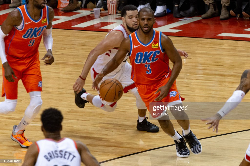 Oklahoma City Thunder v Toronto Raptors : News Photo