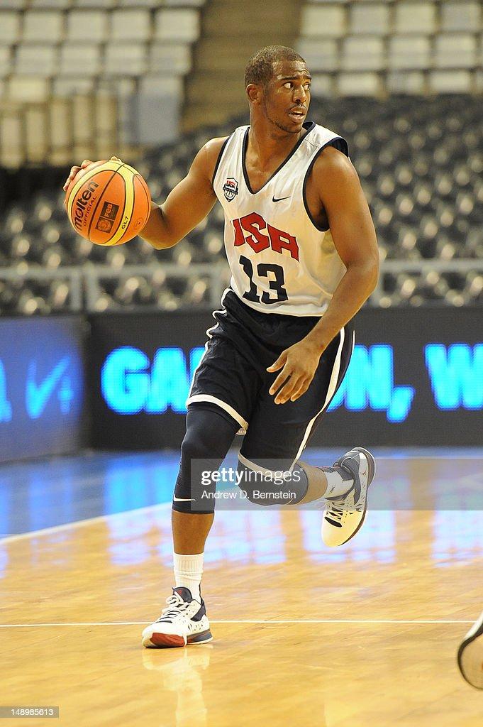 USA Basketball Senior Men's Training Camp - Barcelona : News Photo