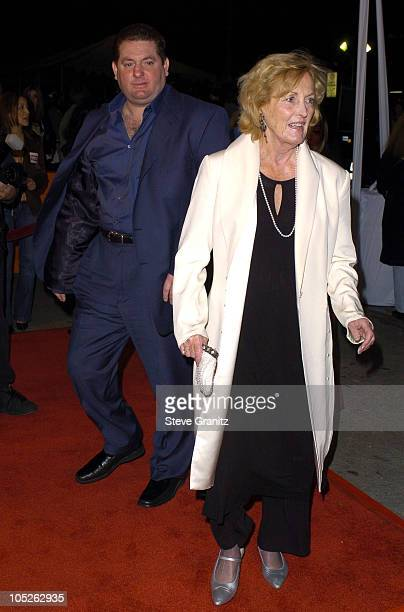 Chris Penn and mom Eileen Ryan during World Premiere of Starsky Hutch Arrivals at Mann's Village in Westwood California United States