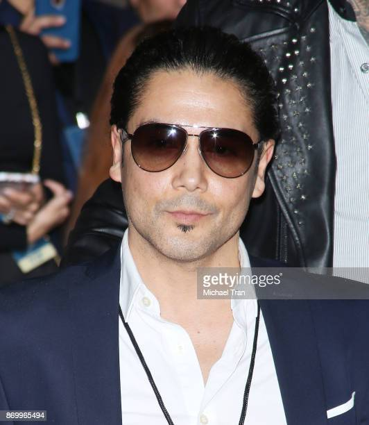 Chris Perez attends the ceremony honoring Selena Quintanilla with a posthumous Star on The Hollywood Walk of Fame held November 3, 2017 in Hollywood,...