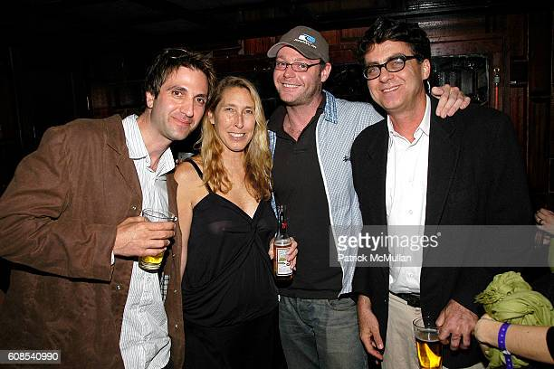 Chris Petty Lisa Phillips Jon Lyon and Wayne White attend ALTOIDS the NEW MUSEUM Party to Celebrate the First Ever Altoids Award at Union Pool on...