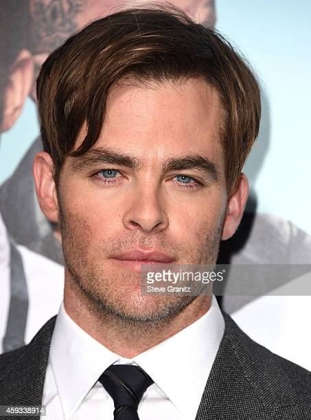 Chris Pine arrives at the 'Horrible Bosses 2' Los Angeles Premiereat TCL Chinese Theatre on November 20 2014 in Hollywood California