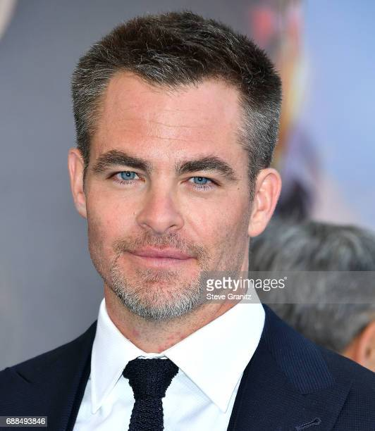 Chris Pine arrives at the Premiere Of Warner Bros Pictures' 'Wonder Woman' at the Pantages Theatre on May 25 2017 in Hollywood California