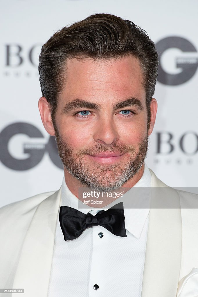 Chris Pine arrives for GQ Men Of The Year Awards 2016 at Tate Modern on September 6, 2016 in London, England.