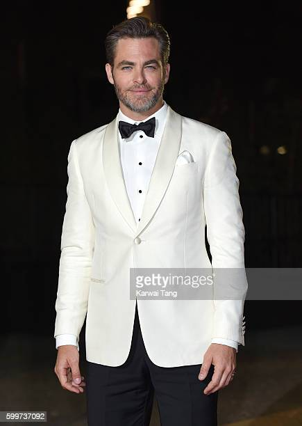 Chris Pine arrives for the GQ Men Of The Year Awards 2016 at Tate Modern on September 6 2016 in London England
