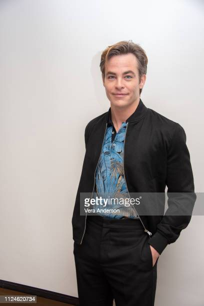 Chris Pine at the I Am the Night Press Conference at the Four Seasons Hotel on January 24 2019 in Beverly Hills California
