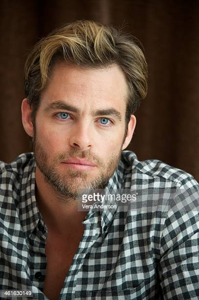 Chris Pine at the 'Jack Ryan Shadow Recruit' Press Conference at the Montage Beverly Hills on January 9 2014 in Beverly Hills California