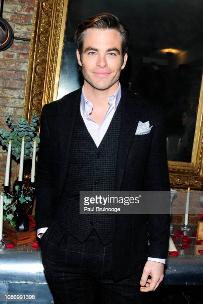Chris Pine attends New York Premiere Of TNT's I Am the Night After Party at 214 Lafayette on January 22 2019 in New York City