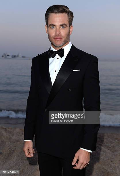 Chris Pine attends Sierra Affinity's Hell Or High Water Party at Nikki Beach on May 16 2016 in Cannes France