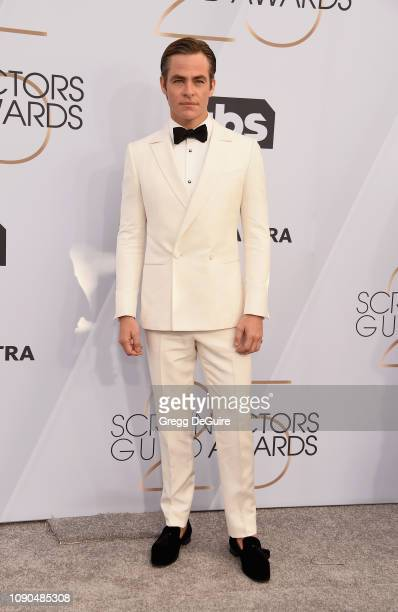 Chris Pine attends the 25th Annual Screen ActorsGuild Awards at The Shrine Auditorium on January 27 2019 in Los Angeles California 480645