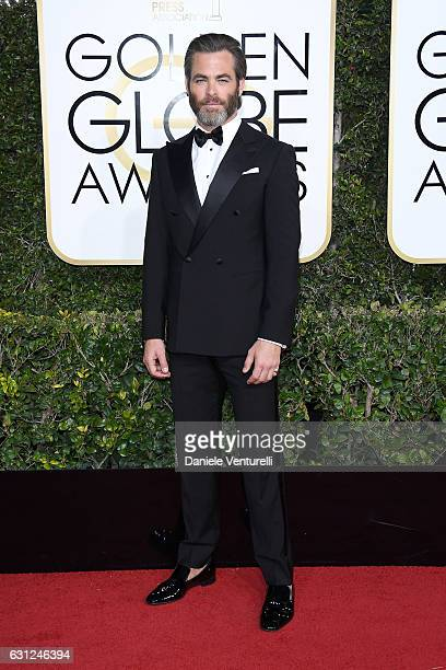 Chris Pine attends the 74th Annual Golden Globe Awards at The Beverly Hilton Hotel on January 8 2017 in Beverly Hills California