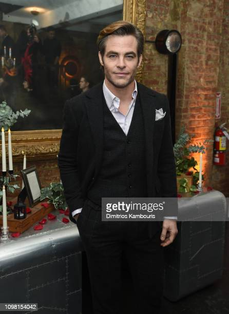 """Chris Pine attends the after party for """"I Am The Night"""" on January 22, 2019 in New York City."""