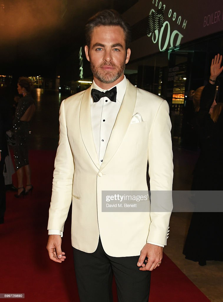 Chris Pine attends the GQ Men Of The Year Awards 2016 at the Tate Modern on September 6, 2016 in London, England.