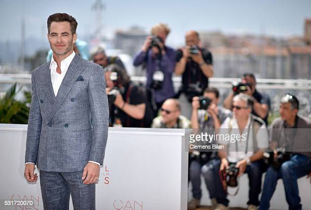 Chris Pine attends the Hell Or High Water Photocall during the 69th Annual Cannes Film Festival on May 16 2016 in Cannes France