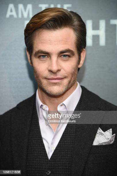 Chris Pine attends the I Am The Night New York Premiere at Metrograph on January 22 2019 in New York City