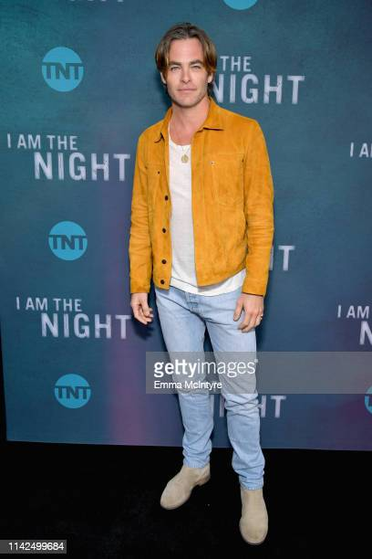 Chris Pine attends TNT's I Am The Night FYC Event on May 9 2019 in North Hollywood California