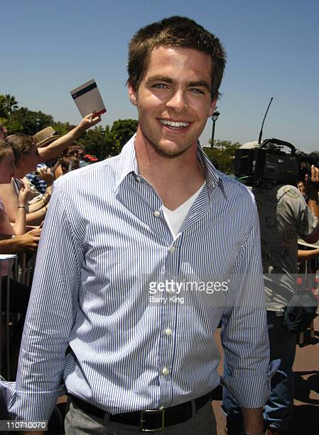 Chris Pine during 'The Princess Diaries 2 Royal Engagement' World Premiere Arrivals at AMC Downtown Disney in Anaheim California United States