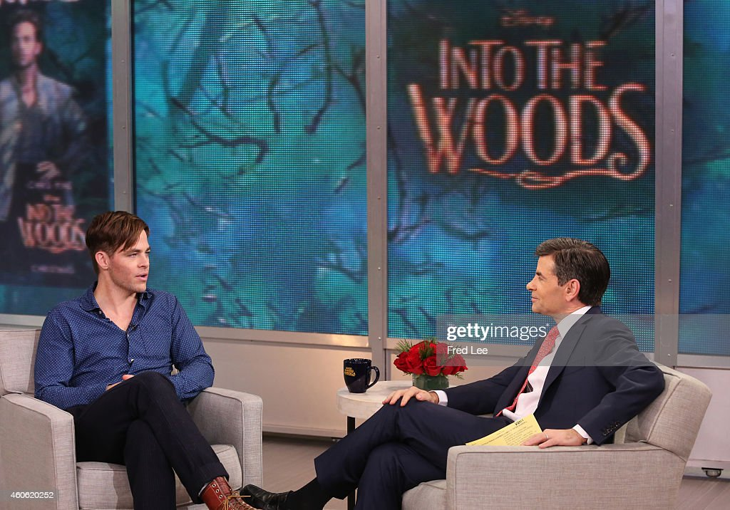 AMERICA - Chris Pine is a guest on 'Good Morning America,' 12/16/14, airing on the ABC Television Network.
