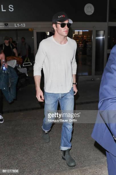 Chris Pine is seen on November 28 2017 in Los Angeles California