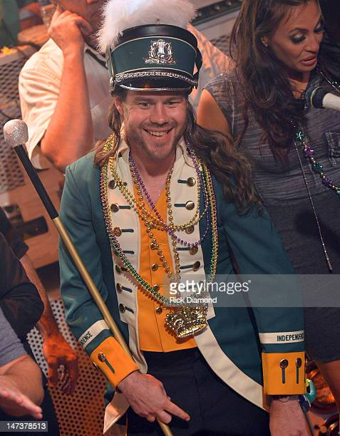 Chris Pontius on stage as The Flaming Lips perform during the conclusion of the MTV, VH1, CMT & LOGO O Music Awards at the House of Blues on June 28,...