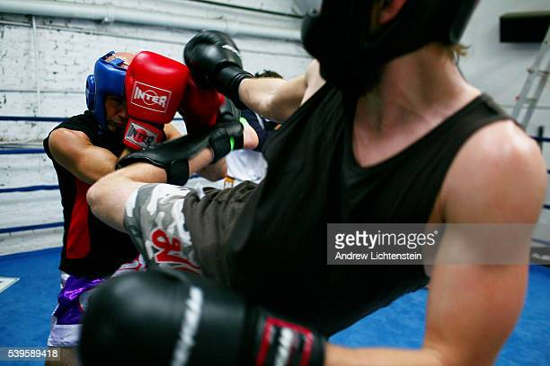 Chris practices for an upcoming fight by sparring with his trainer who is much bigger and can loose his temper in the ring Christopher Kwiatkowski is...