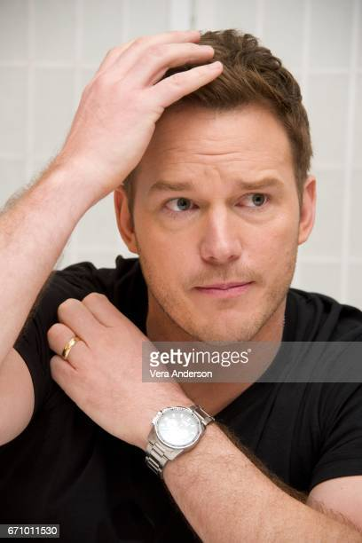 Chris Pratt at the Guardians of the Galaxy Vol 2 Press Conference at the London Hotel on April 20 2017 in West Hollywood California