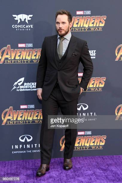 Chris Pratt attends the premiere of Disney and Marvel's 'Avengers: Infinity War' on April 23, 2018 in Los Angeles, California.