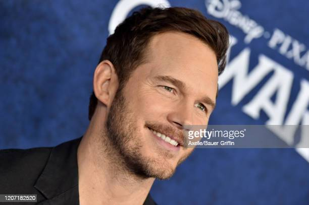"""Chris Pratt attends the premiere of Disney and Pixar's """"Onward"""" on February 18, 2020 in Hollywood, California."""
