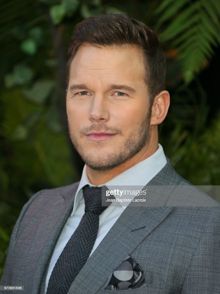 Chris Pratt attends the premiere of Universal Pictures and Amblin Entertainment's 'Jurassic World: Fallen Kingdom' on June 12, 2018 in Los Angeles, California.