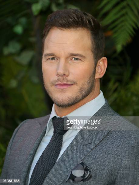 Chris Pratt attends the premiere of Universal Pictures and Amblin Entertainment's Jurassic World Fallen Kingdom on June 12 2018 in Los Angeles...